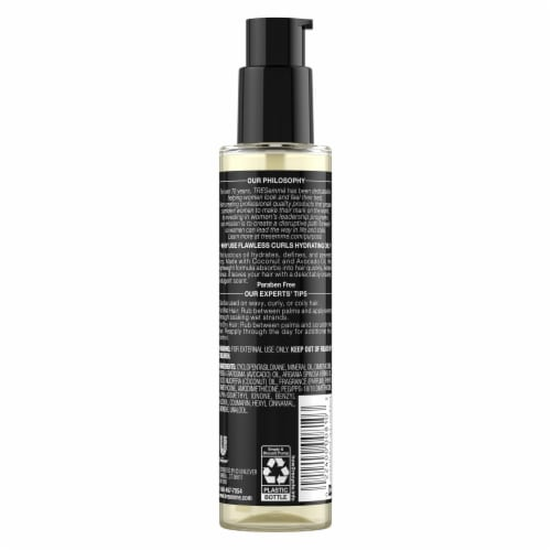 TRESemme Anti Frizz Flawless Curls Hydrating Oil Perspective: back