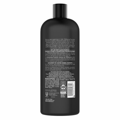 TRESemme Clean & Replenish Professional Quality Deep Cleansing Shampoo Perspective: back
