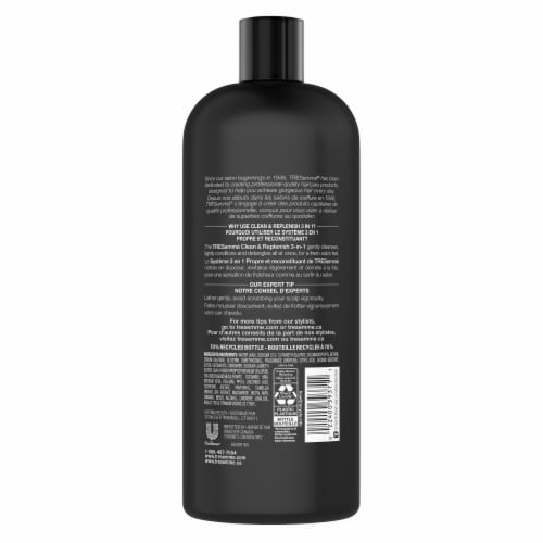 TRESemme Clean & Replenish 2 in 1 Shampoo + Conditioner Perspective: back