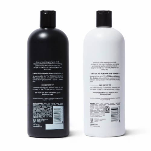 TRESemme Moisture Rich Shampoo & Conditioner Perspective: back