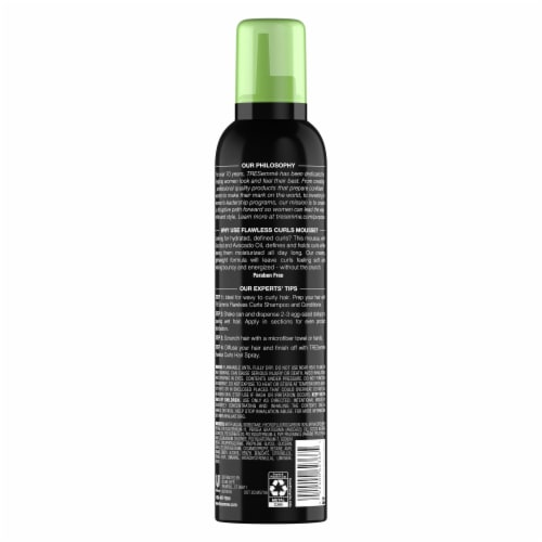 TRESemme Flawless Curls Extra Hold Mousse Perspective: back