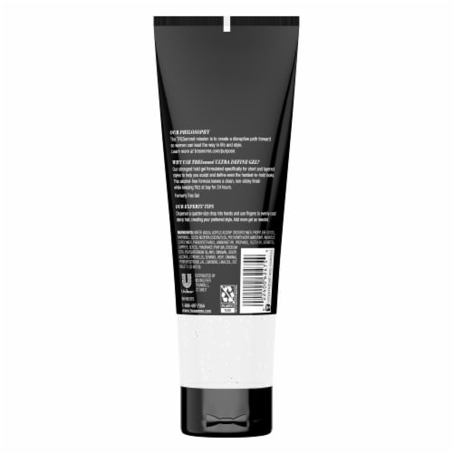 TREsemme Ultra Firm Hair Gel Perspective: back