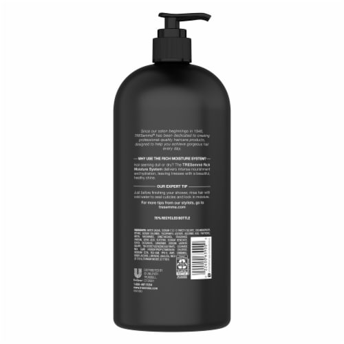 TRESemme Moisture Rich Shampoo Perspective: back
