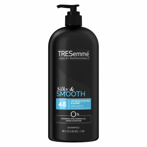 TRESemme Smooth & Silky Touchable Softness Shampoo Pump Perspective: back