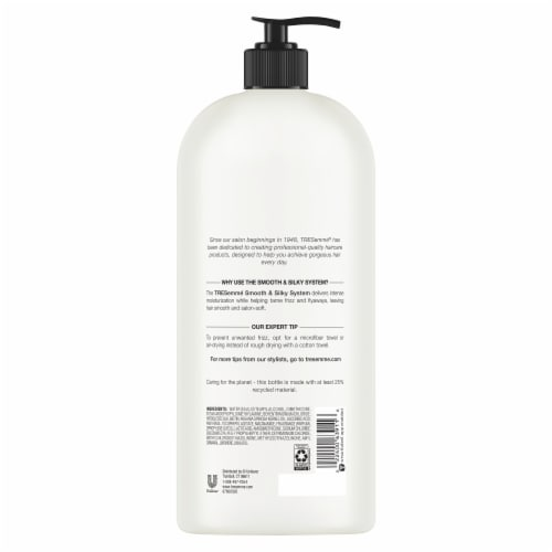TRESemme Smooth & Silky Touchable Softness Conditioner Pump Perspective: back