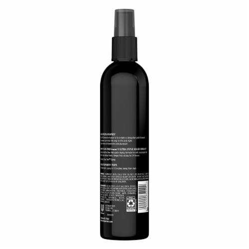 TRESemme TRES TWO Firm Control Non-Aerosol Hair Spray Perspective: back