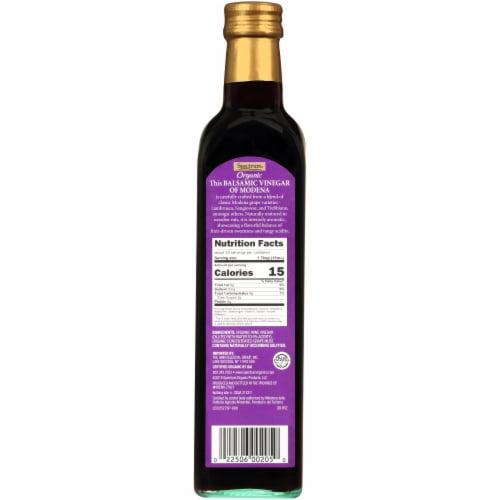 Spectrum Organic Balsamic Vinegar of Modena Perspective: back