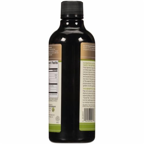 Spectrum Essentials Organic Omega 3 Flax Oil Perspective: back