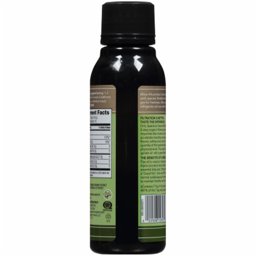Spectrum Essentials® Organic Flax Oil Perspective: back