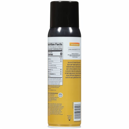 Spectrum™ High Heat Canola Oil Non-Stick Cooking Spray Perspective: back