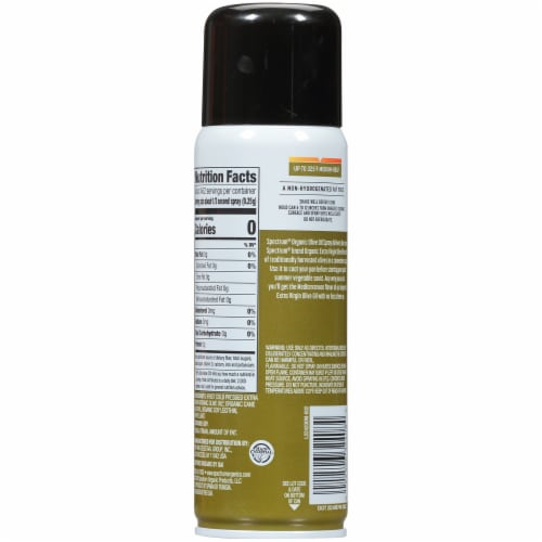 Spectrum™ Culinary Organic Olive Oil Non-Stick Cooking Spray Perspective: back