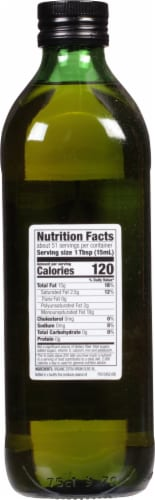 Spectrum Naturals Organic Extra Virgin Olive Oil Perspective: back