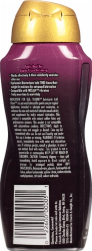 Trojan H2O Closer Water-Based Personal Lubricant Perspective: back