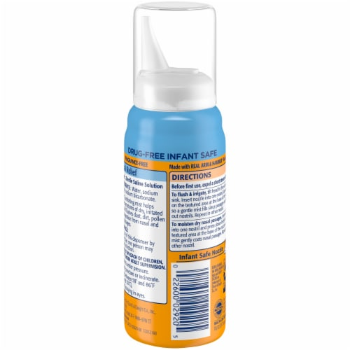 Arm & Hammer Simply Saline Baby Nasal Relief Perspective: back