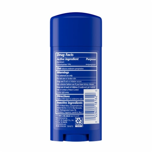 Arrid XX Extra Extra Dry Cool Shower Solid Antiperspirant Deodorant Perspective: back
