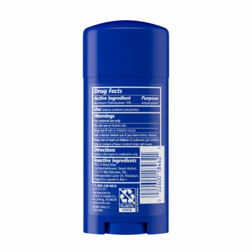 Arrid XX Extra Extra Dry Ultra Fresh Solid Antiperspirant Deodorant Perspective: back