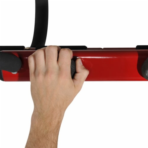 Stamina Products 50-0085 Boulder Fit Door Gym Pull Up Bar & Climbing Hand Holds Perspective: back