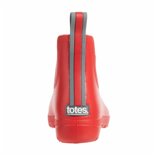 Totes Women's Rain Boots - Red Perspective: back