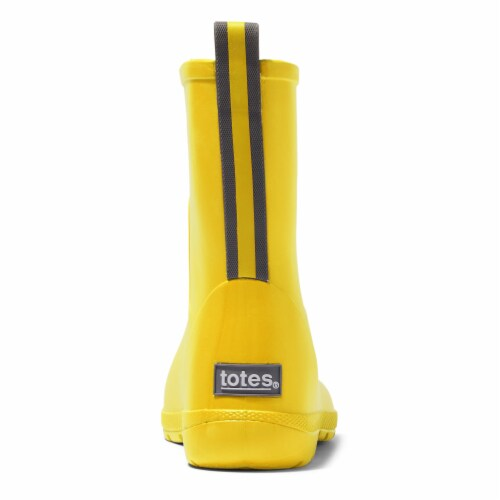 Totes® Kid's Charley Tall Rain Boots - School Bus Perspective: back