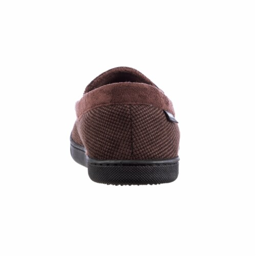 Isotoner®  Mini Box Cord Luke Moccasin with Lacing Perspective: back