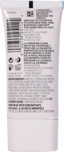 CoverGirl 520 Light Clean Matte BB Cream Perspective: back