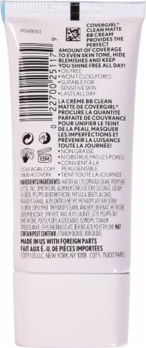 CoverGirl 510 Fair Clean Matte BB Cream Perspective: back