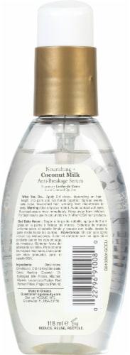 OGX Nourishing Coconut Milk Anti-Breakage Serum Perspective: back