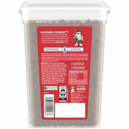 Temptations MixUps Backyard Cookout Flavor Cat Treats Value Size Perspective: back