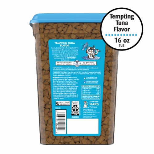 Temptations Tempting Tuna Flavor Treats Stay Fresh Pack Perspective: back