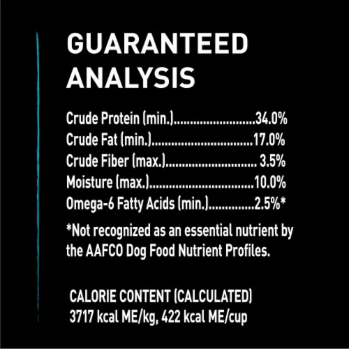 Crave Real Salmon Grain Free Adult Dry Dog Food Perspective: back