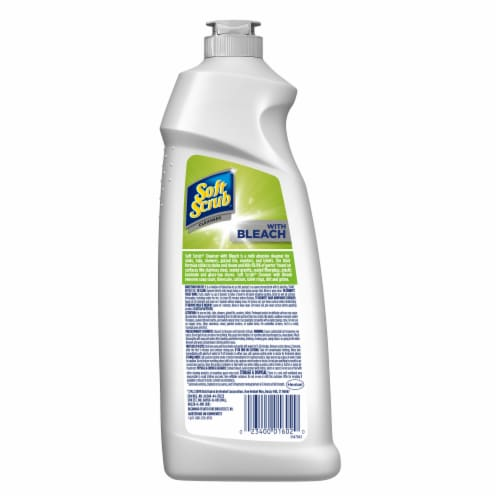 Soft Scrub® Multi-Purpose Disinfectant Cleanser with Bleach Perspective: back