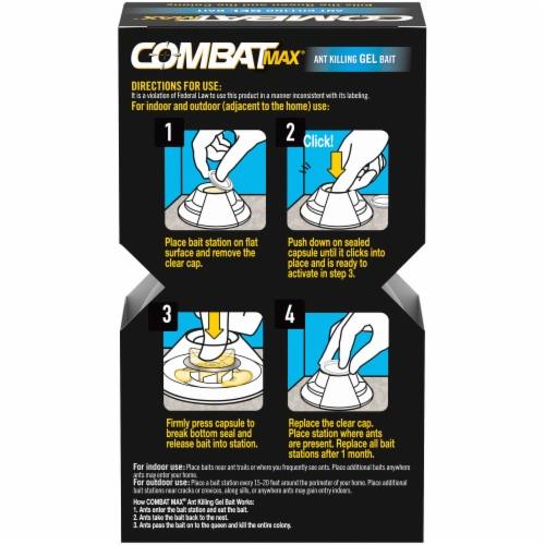 Combat® Max Ant Killing Gel Bait - White Perspective: back