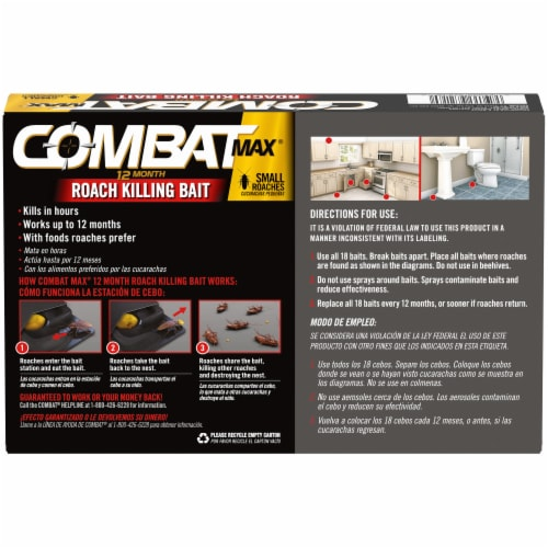 Combat Max Roach Killing Bait Perspective: back
