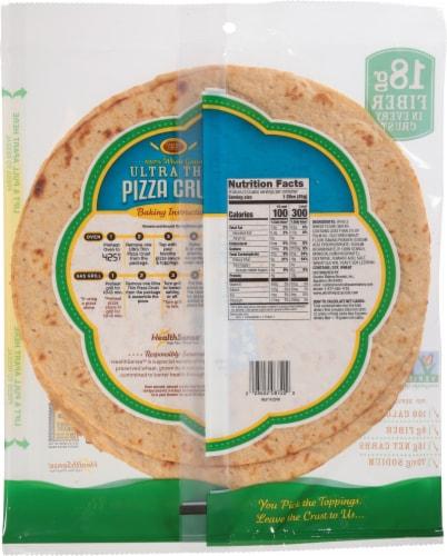 Golden Home Ultra Crispy Pizza Crust Perspective: back