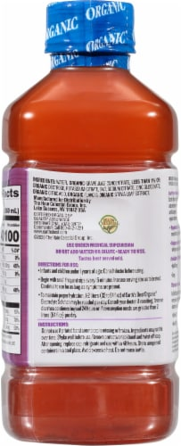 Earth's Best Organic® Grape Organic Electrolyte Solution Perspective: back
