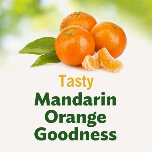 Del Monte No Sugar Added Mandarin Oranges Perspective: back