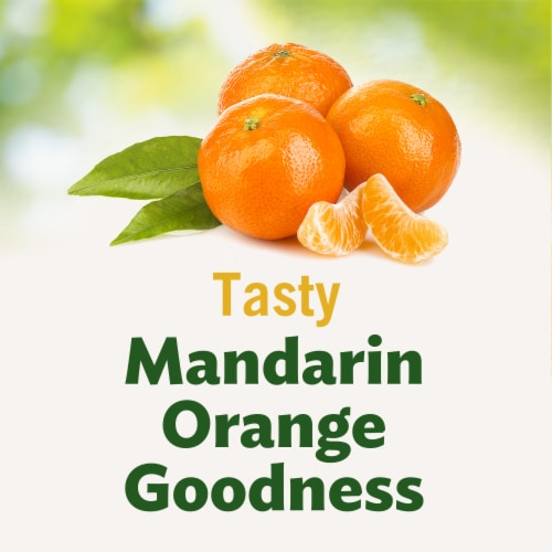 Del Monte Fruit Naturals Mandarin Oranges in Extra Light Syrup Cup Perspective: back