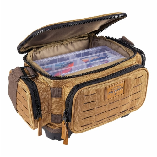 Plano Guide Series 3500 Tackle Bag and Utility Storage Case with Magnetic Top Perspective: back