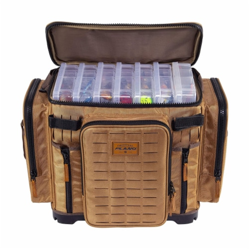 Plano Guide Series 3700 XL Tackle Bag and Utility Storage Case with Magnetic Top Perspective: back