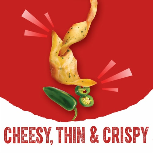 Cheez-It Snap'd Cheesy Baked Snacks Jalapeno Jack Perspective: back
