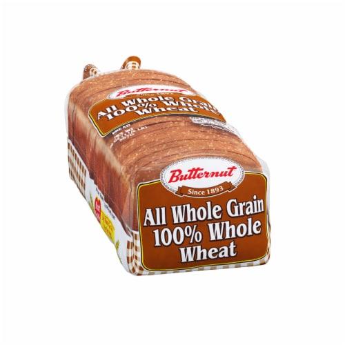 Butternut 100% Whole Wheat Bread Perspective: back