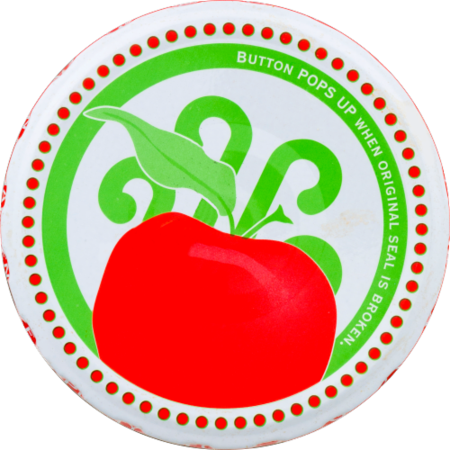 Eden Organic Apple Butter Spread Perspective: back