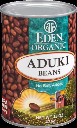 Eden Organic Aduki Beans Perspective: back
