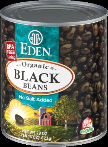Eden Organic Black Beans Perspective: back