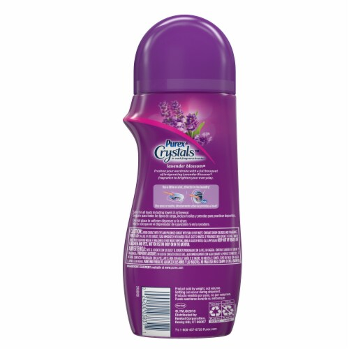 Purex Crystals Lavender Blossom In-Wash Fragrance Booster Perspective: back