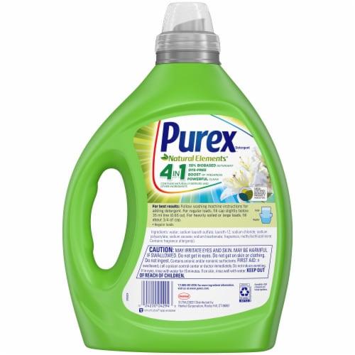 Purex® Natural Elements® Linen & Lilies Detergent Perspective: back