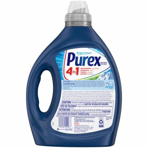 Purex Mountain Breeze Liquid Laundry Detergent Perspective: back