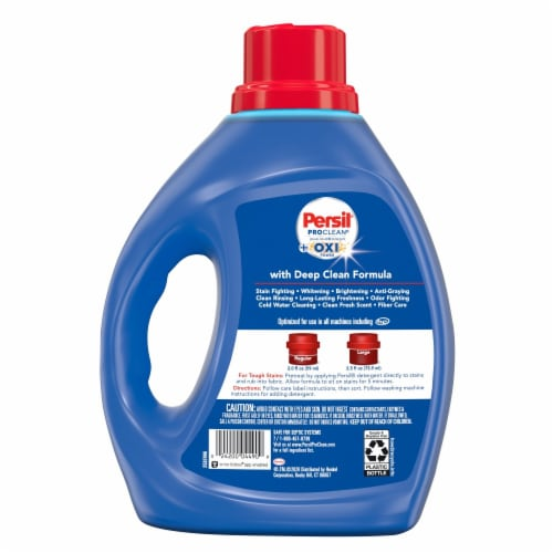 Persil ProClean + Oxi Power Liquid Laundry Detergent Perspective: back