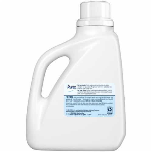Purex® Dirt Lift Action Free & Clear Liquid Laundry Detergent Perspective: back