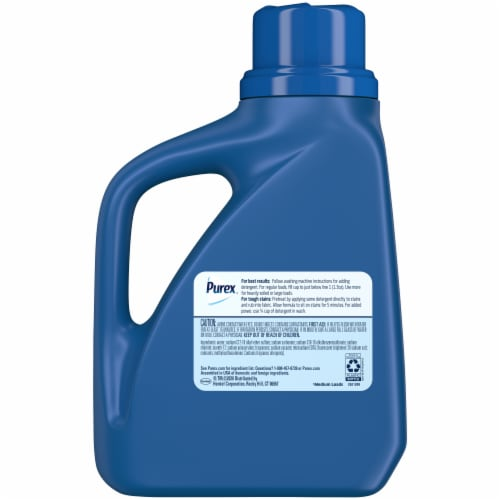Purex® Dirt Lift Action Mountain Breeze Liquid Laundry Detergent Perspective: back